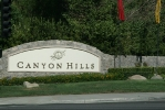 Canyon Hills Entrance