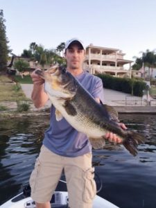 Bass fishing in canyon lake spencer frazier canyon for Canyon lake fishing ca